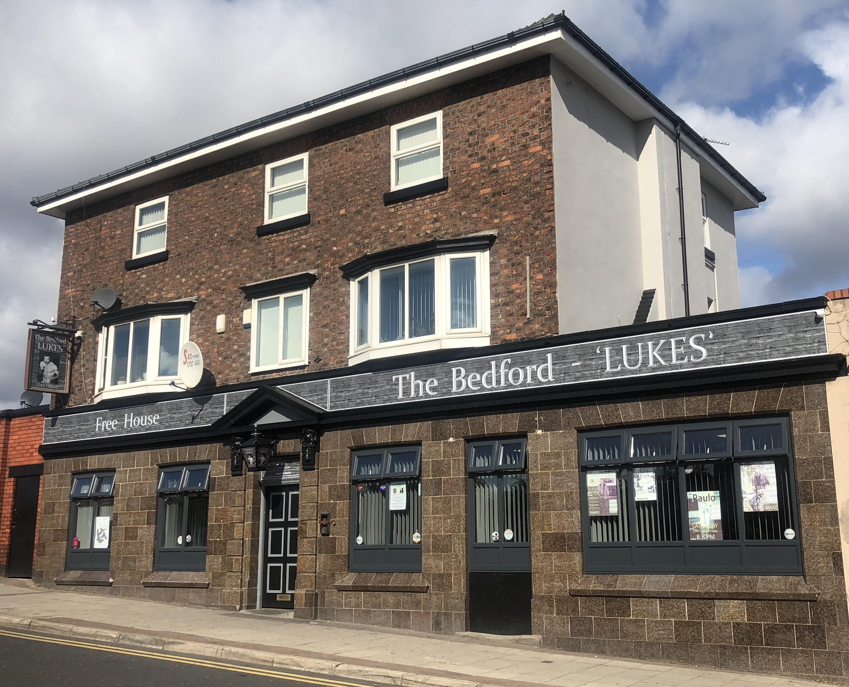 The Bedford Lukes Pub Rock Ferry